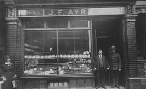 Ayres bakery on Nunhead high-street is amazing! They have been baking at our Nunhead bakery for over 50 years. There has been an Ayres the bakers in and around London since late Victorian times. The owner is the 6th generation of baker in the family. http://www.ayresthebakers.com/