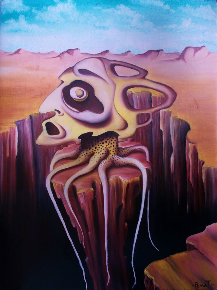 DREAM 4 Olio su tavola 20x25  Artist: Paolo Pomati  https://www.facebook.com/pages/Artist-Paolo-Pomati/171660836182483