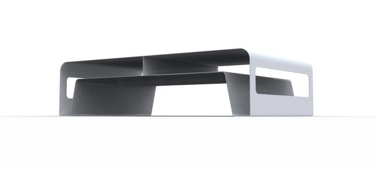 """Tavolino RIBBON di STUDIO FERRANTE DESIGN su """"tavoli e sedie di design"""" di Mondo Abitare."""