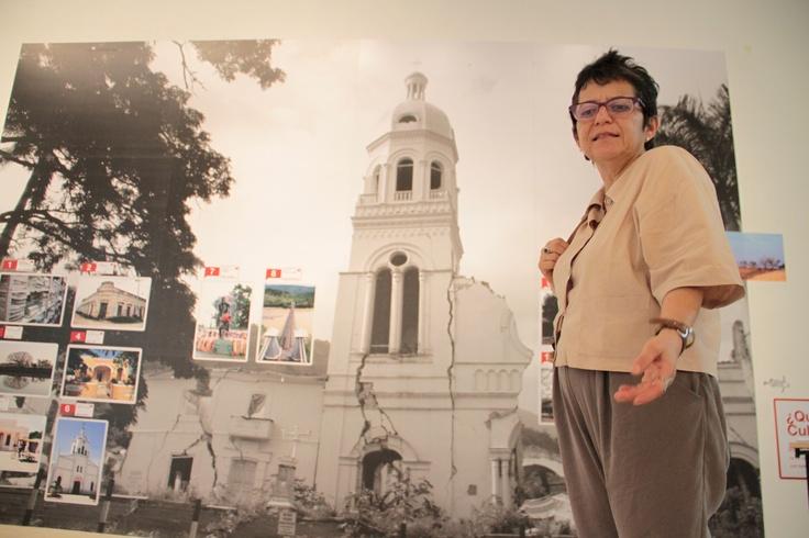Martha Combariza, realizadora de la exposición