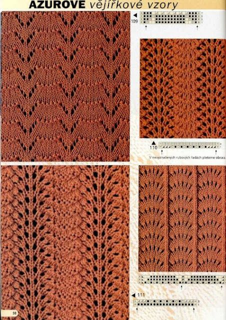 Kira knitting: Knitted pattern no. 85