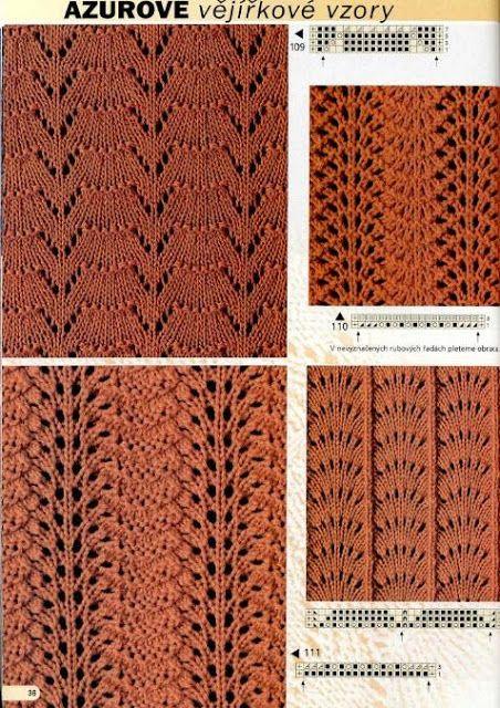 Kira knitting: Knitted pattern no. 85