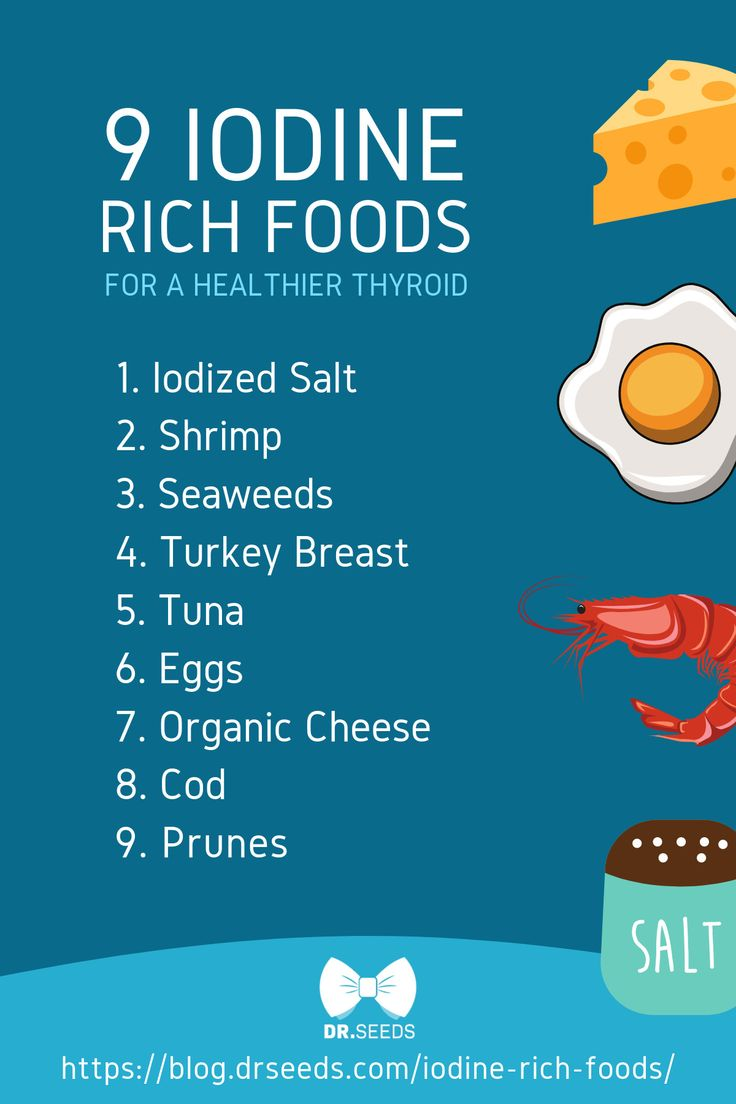 Eat These 13 Iodine-Rich Foods For A Healthier Thyroid ...