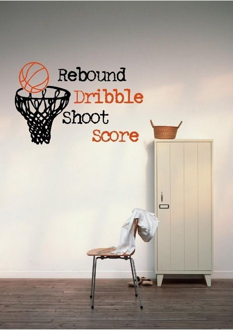 Lovely Best Quotes Basketball Wallpapers Murals For Kids Bedroom Wall Decoration  Ideas Awesome Design