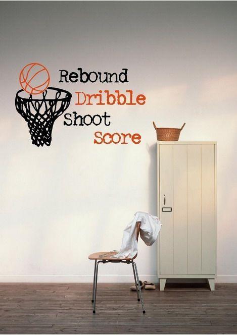 Amazing Basketball Boys Bedroom Wallpaper