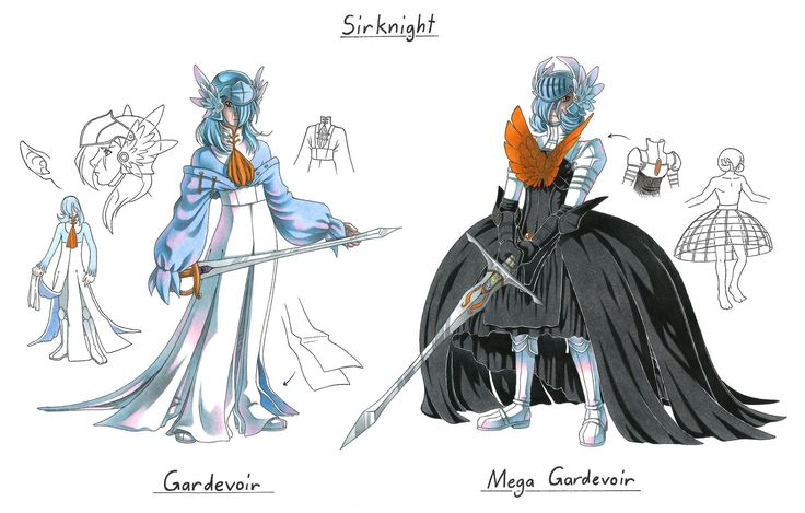Male Shiny Gardevoir Gijinka by Megaloceros-Urhirsch