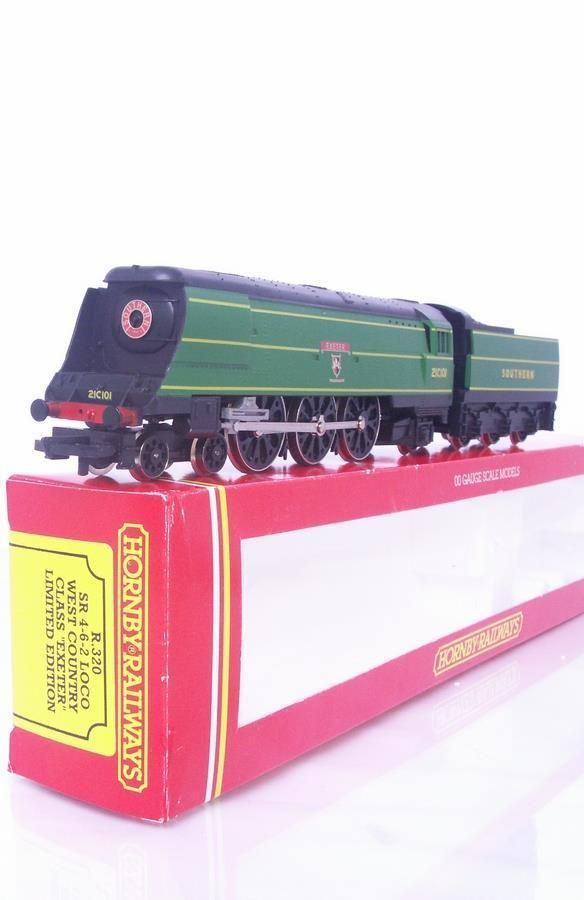 #RARE Ltd Ed #HORNBY #OOGAUGE R320 - SR SOUTHERN WEST COUNTRY CLASS #LOCOMOTIVE  #EXETER