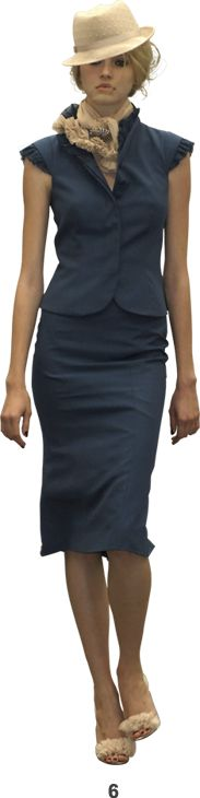 L'wren Scott. This skirt is absolutely perfect. PERIOD.