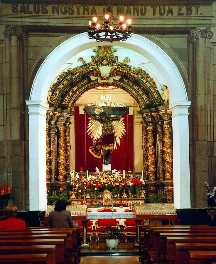 Interior de la Ermita del Cristo de la Salud. Patrón de Valdemoro