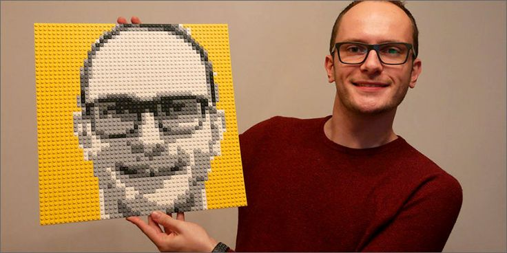 Mosaic Maker: You Can Now Build Your Own Face Out Of Lego
