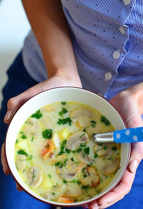 Zupa pieczarkowa najlepsza na świecie (także w wersji