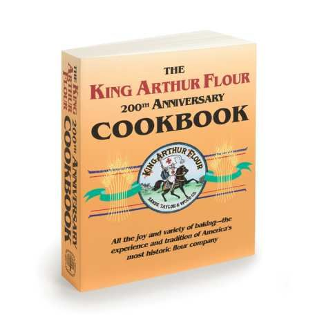 King Arthur Flour 200th Anniversary Cookbook. Buy it in person and some other goodies. Take a class too. The store in Norwich, Vermont is a total time suck for foodies.