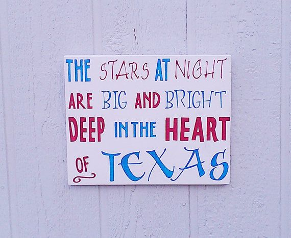 READY TO SHIP  Texas Sign The Stars at Night by RedBarnSignCo, $45.00