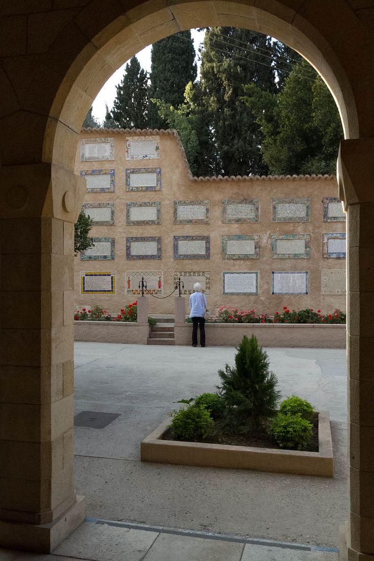   Church of the Visitation, Ein Karem, Jerusalem   Designed by Antonio Barluzzi