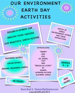 Our Environment Earth Day Activities FREE 38 page printable