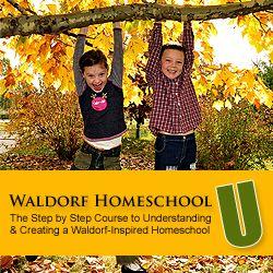 Waldorf Homeschool U - An online training course