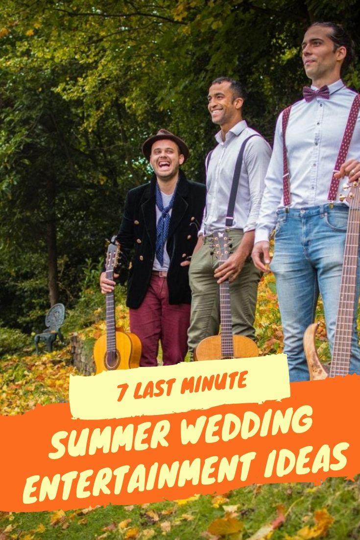 Last Minute Summer Festival Wedding Entertainment Ideas Pinterest And