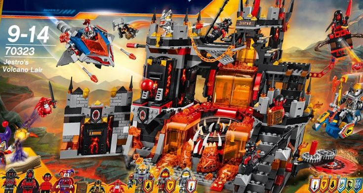 LEGO Nexo Knights Sommer 2016 Sets bei Amazon gelistet › PROMOBRICKS