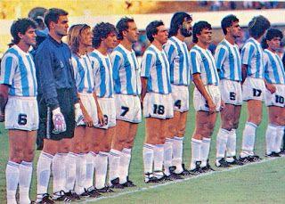 EQUIPOS DE FÚTBOL: SELECCIÓN DE ARGENTINA 1988-89