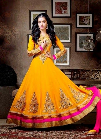 4 Shraddha Kapoor wear Anarkali Dresses (3)