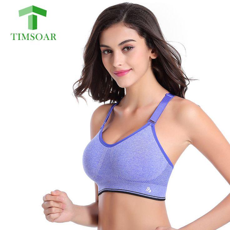Timsoar Level 4 Women Sports Yoga Bra Adjustable Strap Tops Fitness Gym Vest Female Sport Shirt Top With Padded Sport Shirts