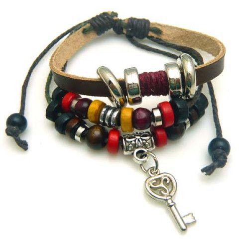 Key Multilayer Bracelet