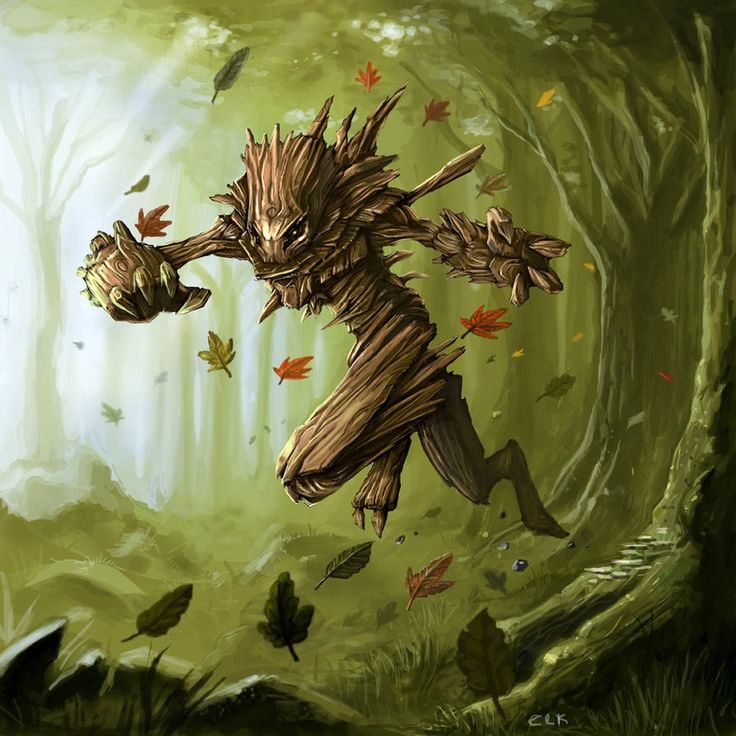 Wood Wraith By Chris L Kimball Monsters Elemental