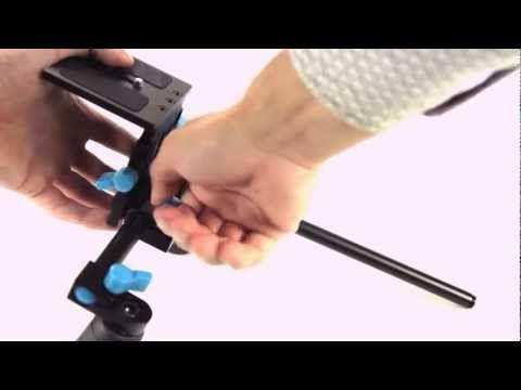 Master Foto video: walimex pro DSLR Hand & Shoulder Rig RL-02 + walimex pro Matte Box Lens Hood M1