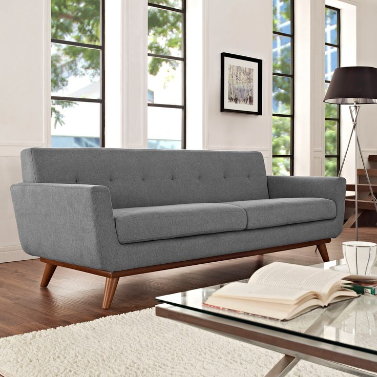Spiers Sofa in Light Gray - Dot & Bo