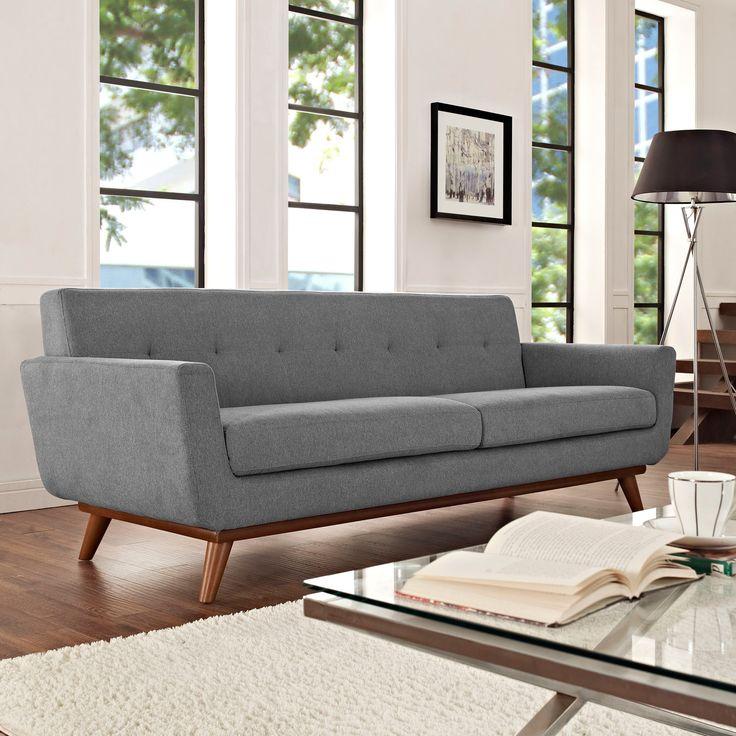 Spiers Sofa in Light Gray - Dot & Bo