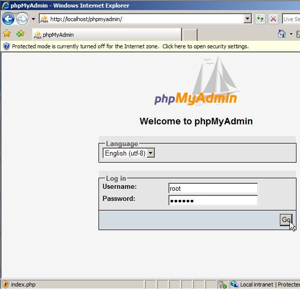 PhpMyAdmin permette di amministrare database MySql, con PhpMyAdmin, possiamo visualizzare creare, modificare, cancellare intere tabelle o singoli record; fare un backup dei dati contenuti; visualizzare informazioni interessanti sul db.
