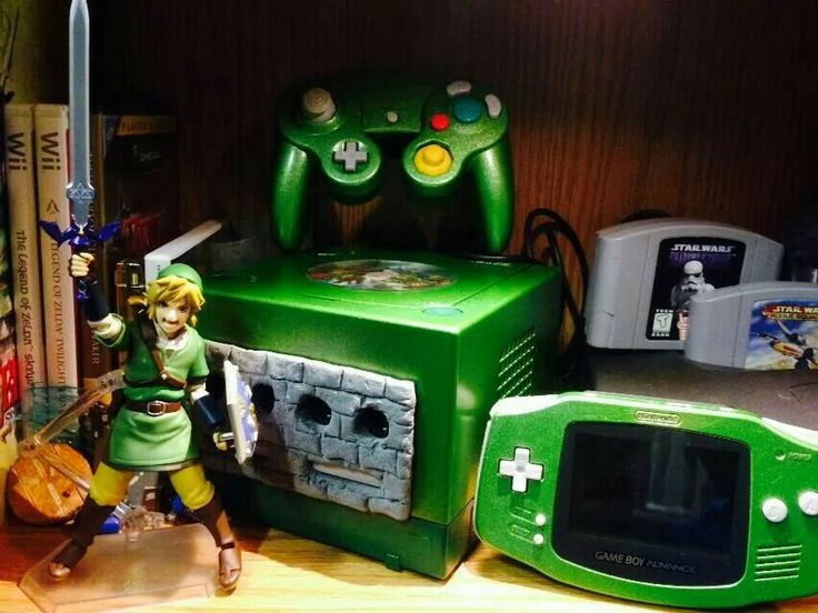 Zelda modded gamecube | Nintendo GameCube | Pinterest | Nintendo, Video games and Gaming