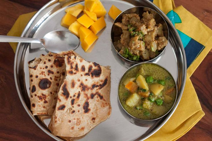On busy weekdays all we need is a quick wholesome meal for lunch or dinner. Give this meal plate a try which has a Vegetable Stew Lauki Kaju Sabzi and Tawa Paratha. Would love to know if you gave it a try. Click on the image below for recipes. #EverydayCooking #Recipes