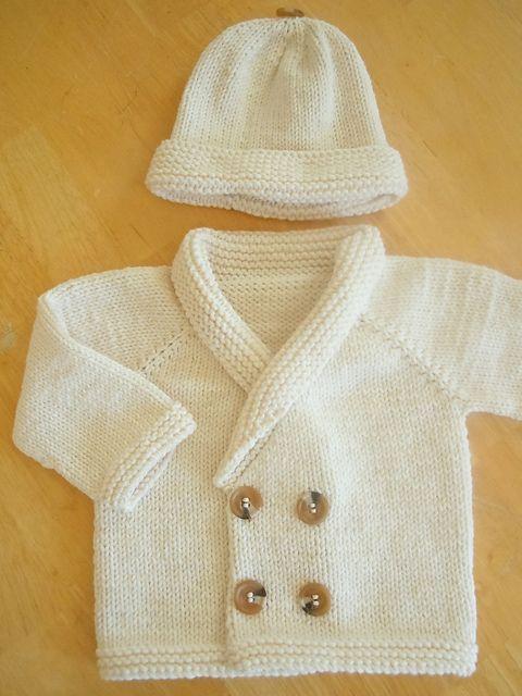 Henry's Sweater - easy seamless top-down cardigan - pattern by Sara Elizabeth Kellner free pattern: