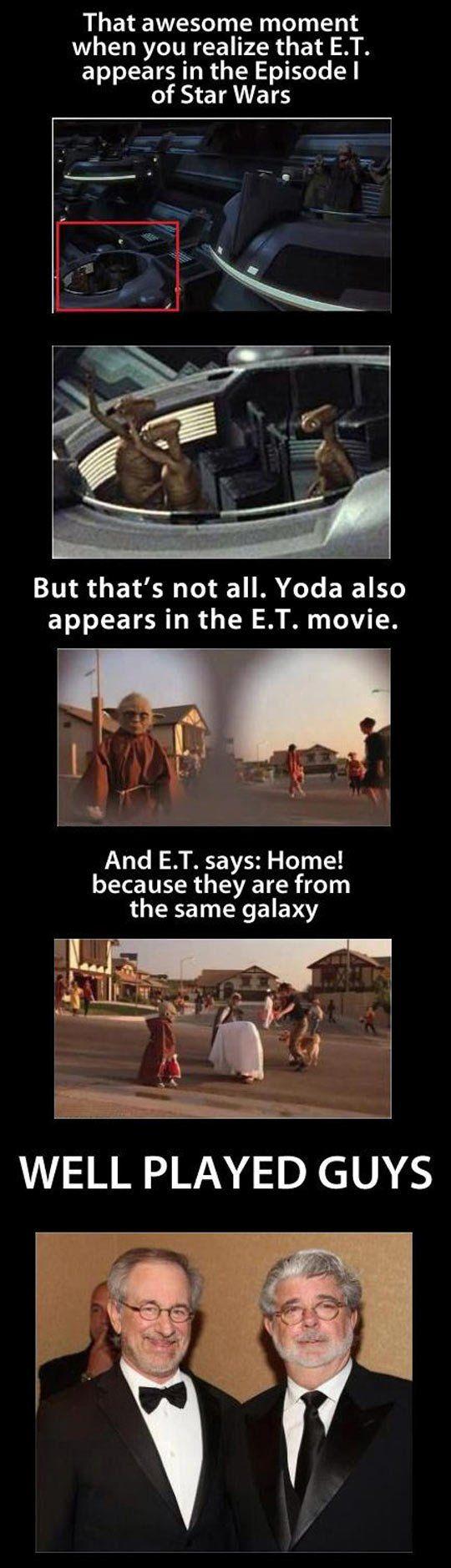 Interesting Star Wars E.T Fact.