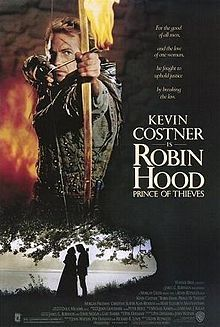 Robin Hood: Prince of Thieves is a 1991 adventure film directed by Kevin Reynolds. The film stars Kevin Costner as the eponymous Robin Hood, Morgan Freeman as Azeem, Christian Slater as Will Scarlet, ... Wikipedia Release date: June 14, 1991 (USA) Director: Kevin Reynolds Featured song: (Everything I Do) I Do It For You MPAA rating: PG-13 Music composed by: Michael Kamen, Bryan Adams