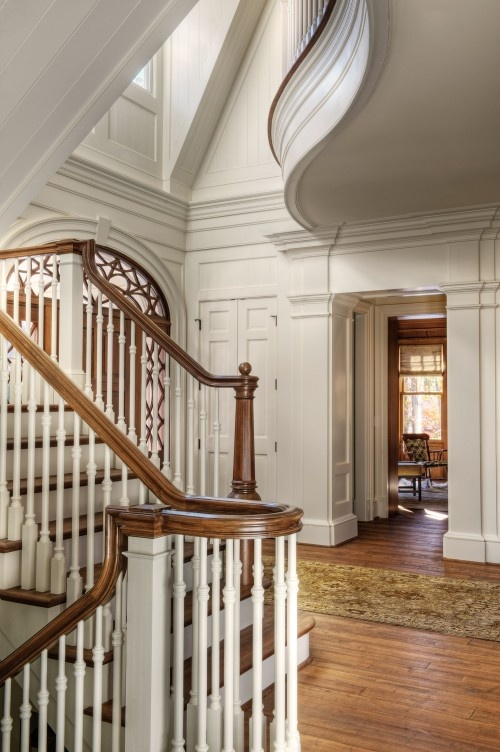 485 Best Traditional Wooden Stairs Images On Pinterest