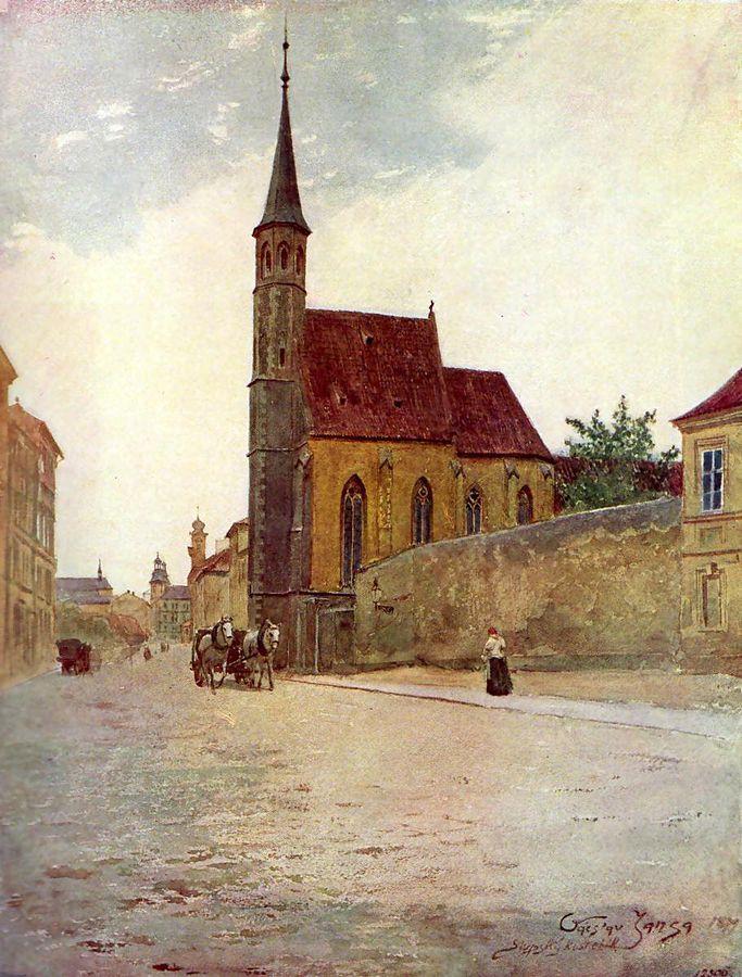Václav Jansa - Slupský kostelík