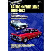 Ford Falcon/Fairlane XR XT XW & XY Repair Manual from 1966-1972 with MPN EP.F1