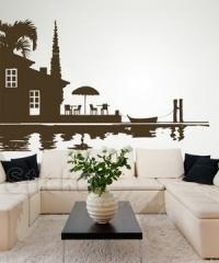 Wall decals - turn your wall into a sea!!!!  Αυτοκόλλητα τοίχου που πραγματικά ξεχωρίζουν...