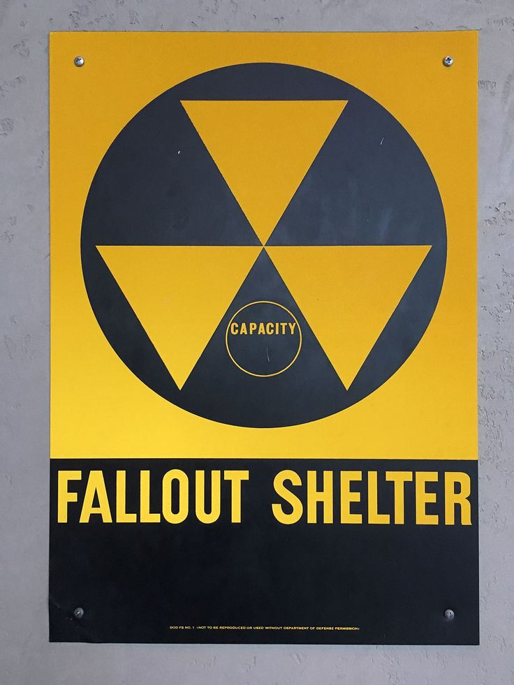 United States of America Fallout shelter sign - Fallout shelter - Wikipedia