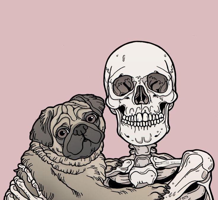 Скелет арт картинки
