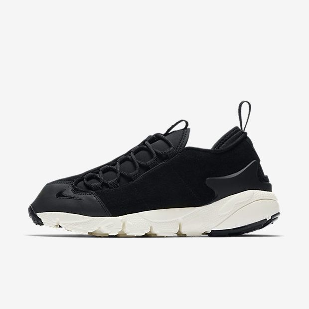Running NIKE Air Footscape Woven Chukka Special Edition Black Black Ivory MIS. 44