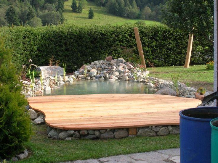 Holz-im-garten-10 | Wohnung/Haus | Pinterest | Holz, Terrasse und ...