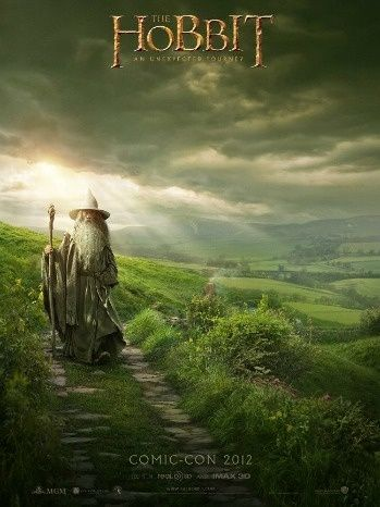Comic-Con 2012: Peter Jackson Unveils 'Hobbit' Poster on Facebook
