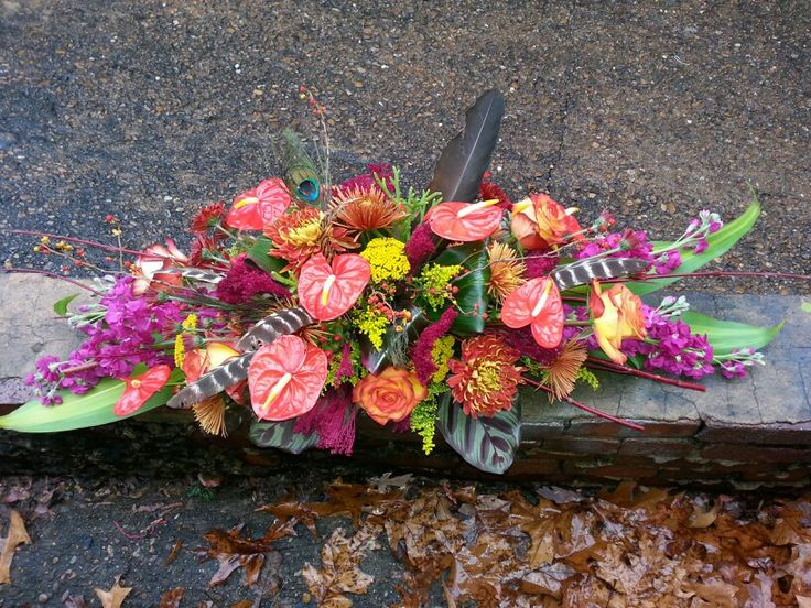 Thanksgiving centerpiece Grafe Studio Floral Artists Everett Warnock