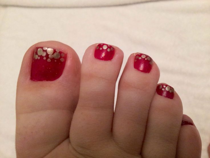 Best 25 Red Toenails Ideas On Pinterest Toenails Toe