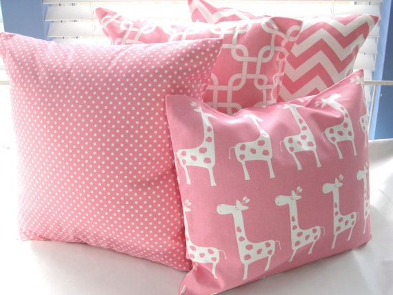 Decorative Pillows For Baby Room : 17 Best images about giraffe bedroom on Pinterest Baby girls, Nursery wall art and Giraffe nursery