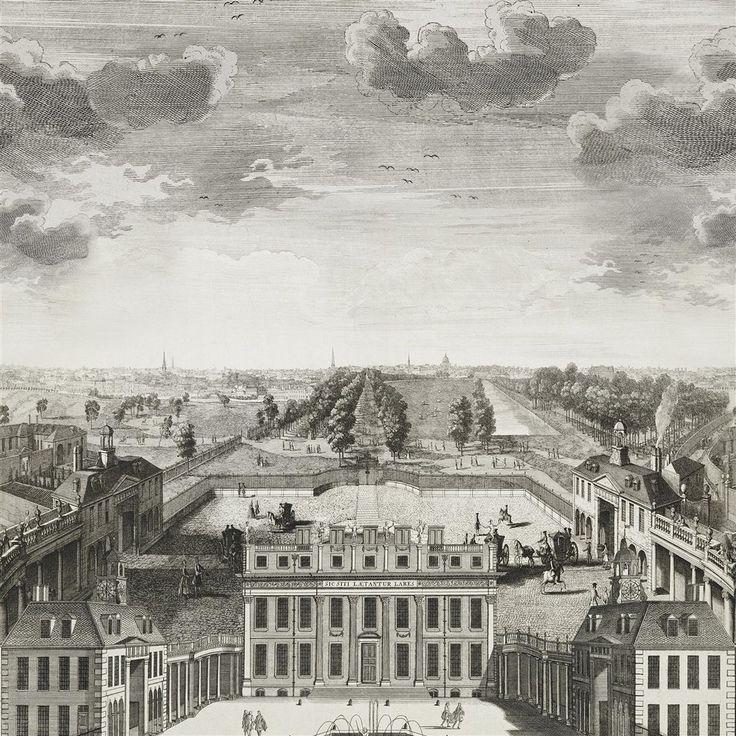 buckingham house - graphite wallpaper | Royal Collection