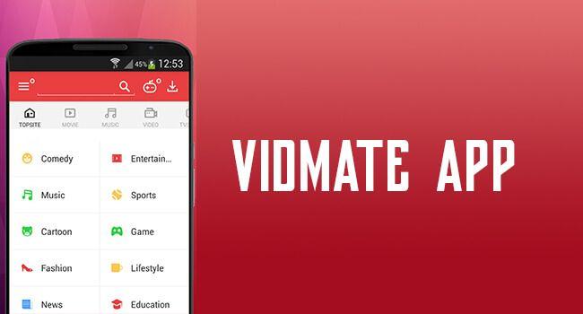 Vidmate App: Download YouTube Facebook & Instagram Videos